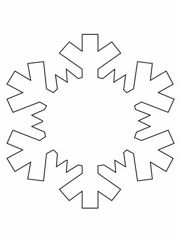 Snowflake Template Trail And District Chamber Of Commerce