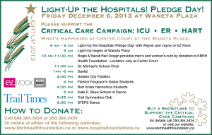 Light-Up the Hospitals! Pledge Day!  @ Waneta Plaza