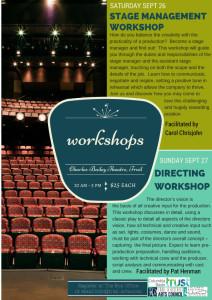 Stage Management Workshop @ Charles Bailey Theatre
