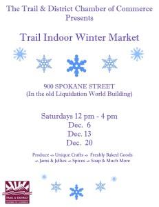 Trail Indoor Winter Market @ Trail | British Columbia | Canada